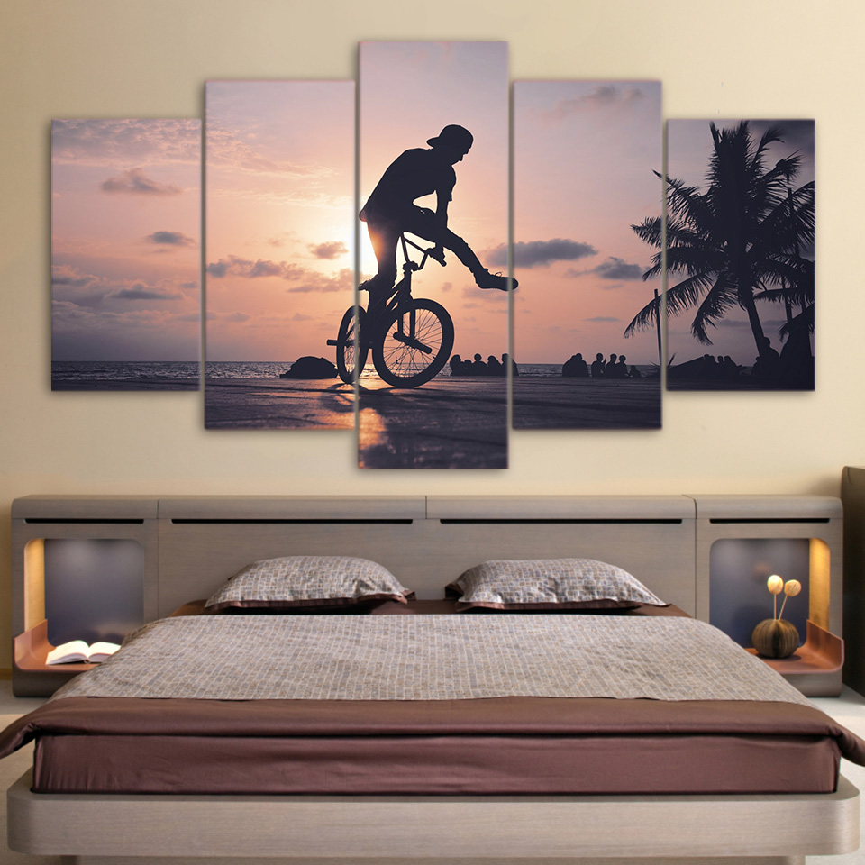 5 Panel Bicycle Fitness