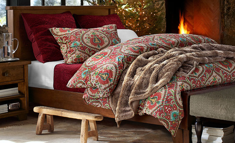 Fall-themed Bed linen and Duvet for your bedroom