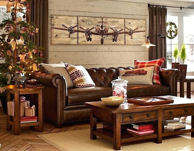 A Cozy Living Room Perfect for Fall