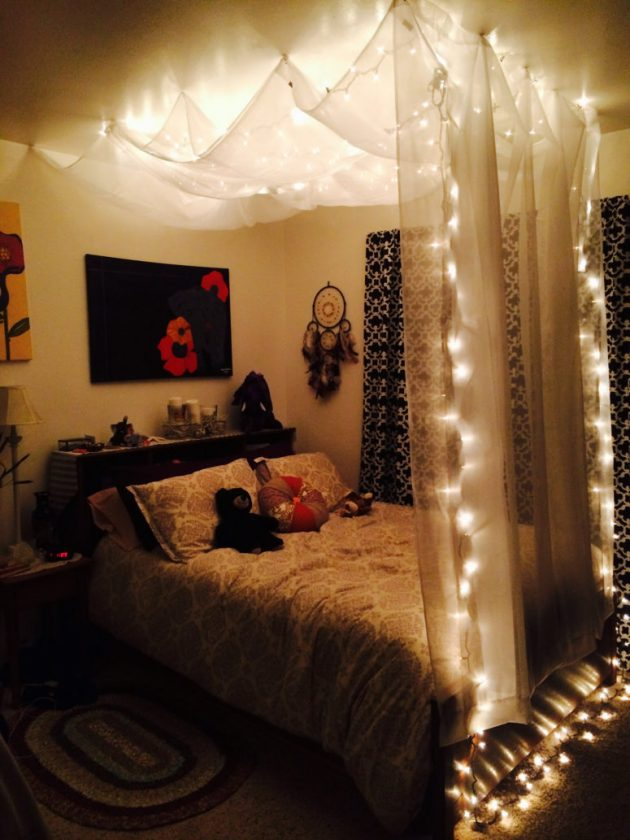 String Lights for your bedroom