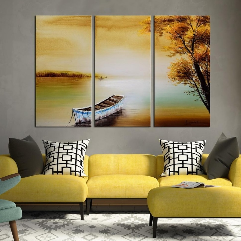 A 3-Panel Wall Art by Enjoy Canvas